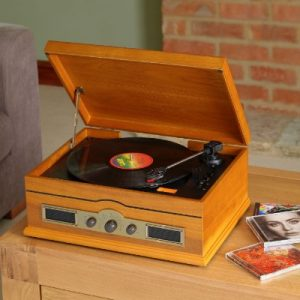 Norfolk retro Record Player