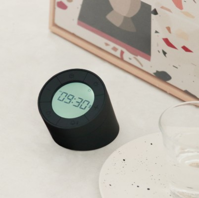 Edge Light Alarm Clock